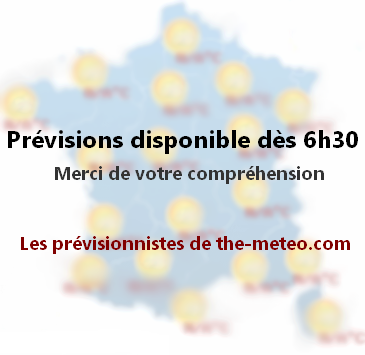 Météo France aujourd'hui avec Meteo-des-vacances.com