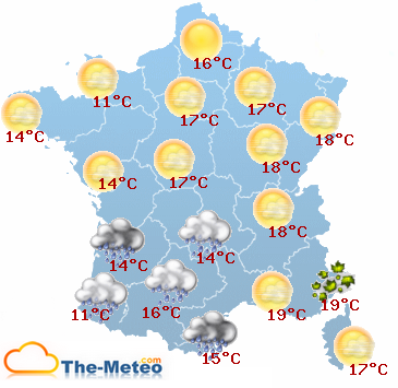 meteo a 15 jours
